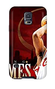 Brooke C. Hayes's Shop 9650718K62363442 For Galaxy S5 Premium Tpu Case Cover Lebron James Protective Case