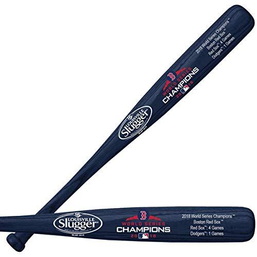 Boston Red Sox Louisville Slugger 2018 World Series Champions Laser Engraved Stats Mini Bat -