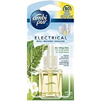 Ambi Pur Navulling voor elektrische luchtverfrissers, 4 stuks, ochtendauw, 20 ml