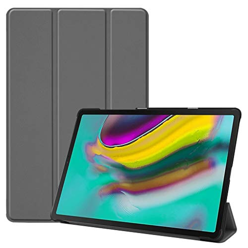 Finedayqi ❤ for Samsung Galaxy Tab S5e 10.5 2019 T720 T725 Smart Magnetic Leather Case Cover -