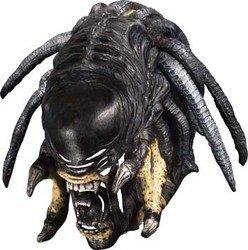 [Predator-Alien Hybrid Deluxe Mask Costume Accessory] (Predator Deluxe Mask)