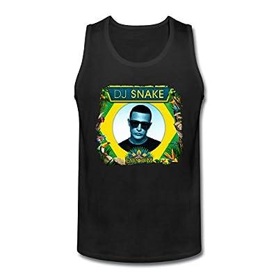 CNTJC Men's Artist DJ Snake Tank Top XXXL