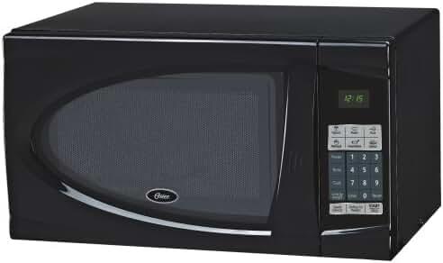 Oster OGDJ901 0.9-Cubic Feet Countertop Microwave Oven, 900-Watt, Black