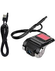 Akozon HD 1080P Multifunction Mini Car DVR Video Recorder Dash Camera Smart GPS USB APK ADAS Driving Recorder Support Car-Machine Interconnection + Touch Screen