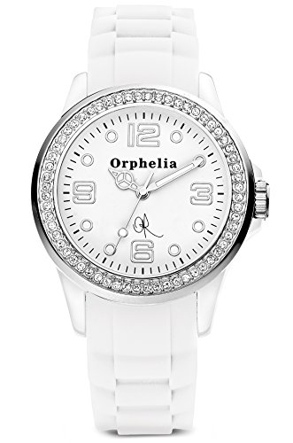Orphelia OR25100011 - Women's Watch, Silicon, White Color