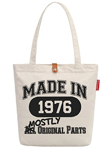So'each Women's Letters Graphic Top Handle Canvas Tote Shoulder Bag