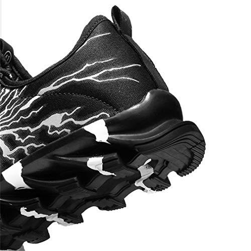 Interior Uomo Mesh Fitness All'aperto Scarpe Air Ragazzo Atletico Cushion Sneakers Sportive Da Juqilu Basse 8 Allacciare Casual Ginnastica Corsa 45 29 Running zawaqpd