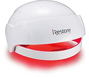 iRestore Laser Hair Growth System - FDA-Cleared Hair Loss Treatment & Treats Balding, Thinning Hair for Men and Women - Laser Hair Restoration Therapy Improves Hair Thickness, Volume, and Density