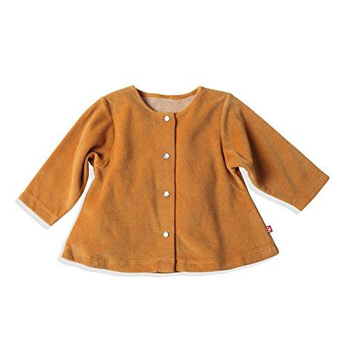 - Zutano Baby Girls' Velour Swing Jacket - Caramel, 24 Months