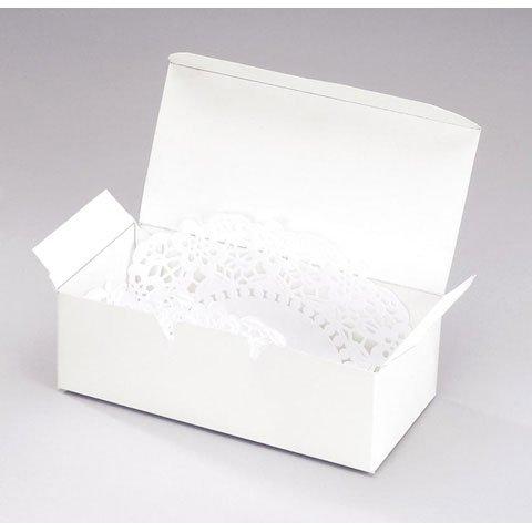 Victoria Lynn Cake Box - White - 5.5 x 1.75 inches - 24 pieces