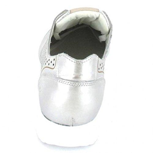 Bullboxer sportlicher Schnürer , Farbe: Silber Silber
