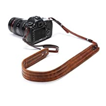 ONA The Presidio Leather Camera Strap for Camera Kits Up to 6lbs - Antique Cognac