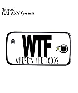WTF Where is the Food Mobile Cell Phone Case Samsung Galaxy S4 Mini White