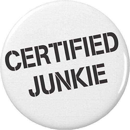 """Certified Junkie 2.25"""" Bottle Opener from A&T Designs"""