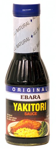 JES Yakitori Sauce, 15-Ounce Bottle (Pack of 3)