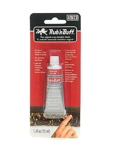 - Rub 'n Buff The Original Wax Metallic Finish pewter [PACK OF 3 ]