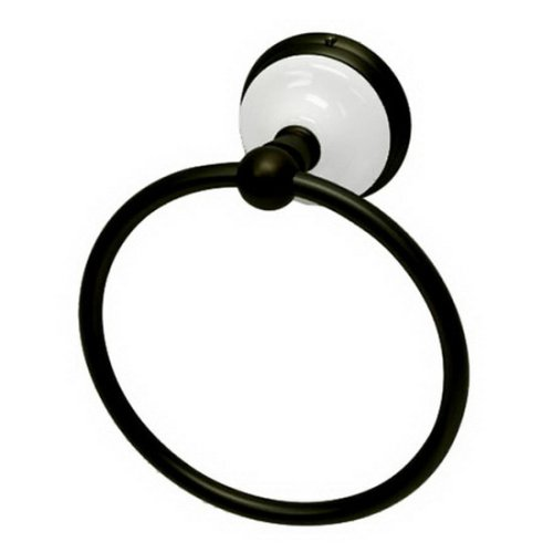 Victorian Bronze Hardware - Kingston Brass BA1114ORB Victorian 6-Inch Towel Ring, Oil Rubbed Bronze