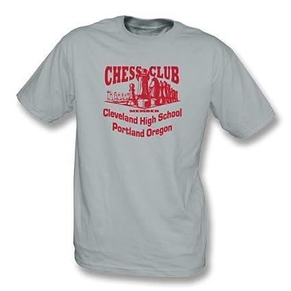 85d60f4c Amazon.com: Chess Club Member T-shirt, Color Grey: Sports & Outdoors