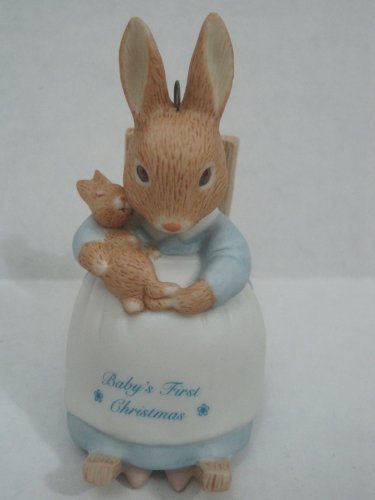 Hallmark Keepsake Ornament Baby's First Christmas Beatrix Potter Christmas