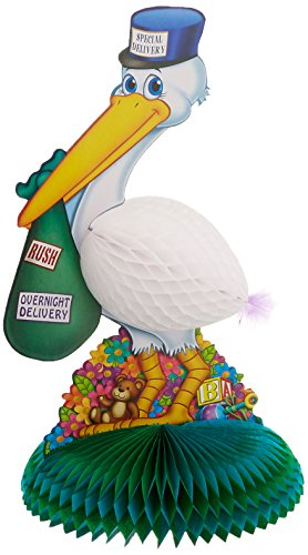 Stork Centerpiece Party Accessory (1 count) -
