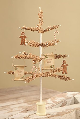 Bethany Lowe 12' Tea Stained Paper Tree and Sweet Treats Ornaments (Christmas Trees Lowes 12ft)