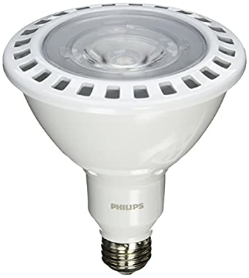 Philips 435388 17PAR38/F25 2700 DIM AF SO Single Optics 17W PAR38 LED 2700K White Flood 25° Light Bulb