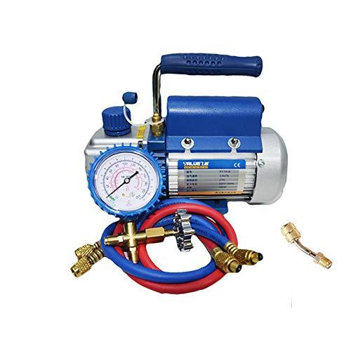 FidgetFidget Metric Pump Rotary Vane Deep Vacuum 2.12CFM AC HVAC 150W 2PA Tool Air Condition