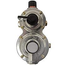 Mr. Heater Propane Auto-Changeover Two Stage Regulator 400k BTU - Top View Multi