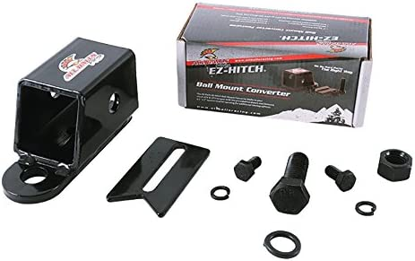 New All Balls Racing EZ Hitch 2 Receiver Tube Adpter 43-1005 For Polaris Diesel 455 4x4 Built After 9//98 99 Farmhand 450 2x4 Built After 8//29//16 17 Diesel 455 4x4 Built Before 9//98 99