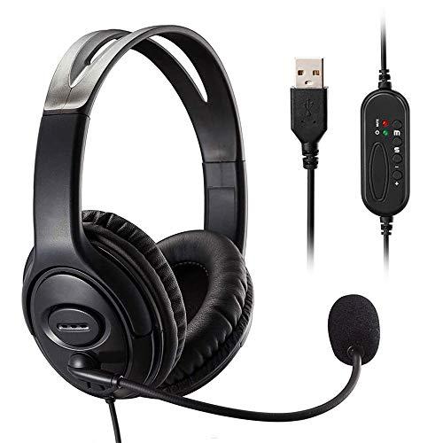 🥇 MKTBA Auriculares para Ordenador