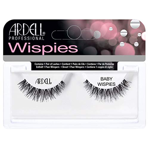 (3 Pack) ARDELL False Eyelashes - BABY Wispies Black
