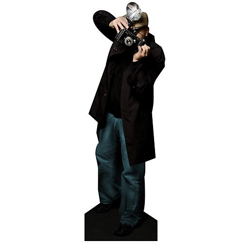 Paparazzi Standee Hollywood Movie Star Standup Photo Booth Prop Background Backdrop Party Decoration Decor Scene Setter Cardboard Cutout -