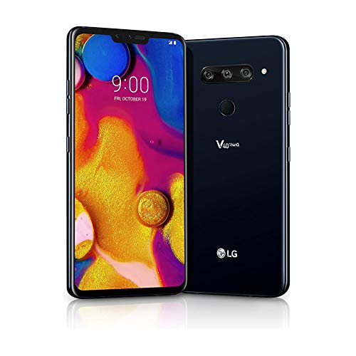 - LG Electronics LG V40 LM-V405UAL - 64GB - Verizon Unlocked - Moroccan Blue (Renewed)