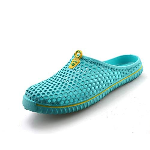 Respirant de Taille EU coloré Vert Sabots Chaussures Jardin Femmes Léger Confortable Rouge Évider 39 EVA ZHRUI 587qnOn