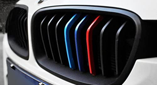 RGAta Pegatinas de Rayas para BMW X1 X 3 X5 X 6 E53 E46 E39 E60 E90 E36 (25 cm x 5 cm, Rojo, Azul Marino, Azul Cielo): Amazon.es: Coche y moto