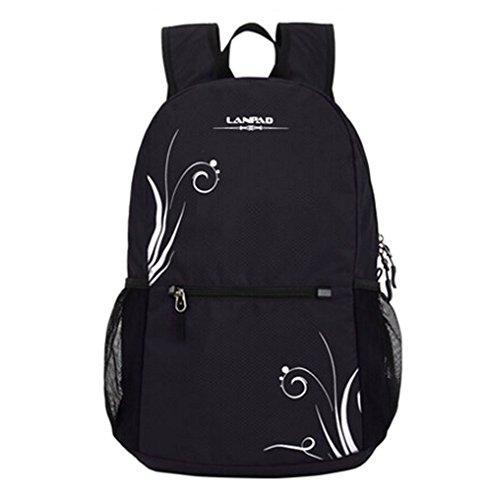 fanselatm-womens-durable-lightweight-polyester-backpack-travel-daypack-black