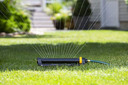 Water your whole lawn with an oscillating sprinkler