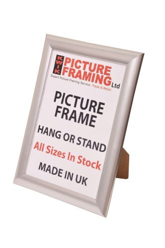Silver Photo Picture Frame (Available in All Sizes) (15 x 10 Inch ...