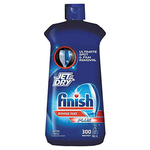 Finish Jet-Dry Plus Dishwasher Rinse Aid 32oz Rinse Liquid