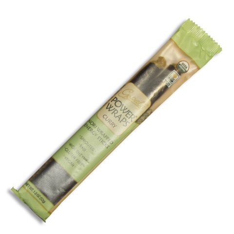 Gopal's Nori Wrapped Energy Sticks Power Wraps, Curry, 1.15 Ounce (Pack of 24)
