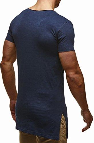 Homme Bleu T Nelson Leif shirt Sw46Tq