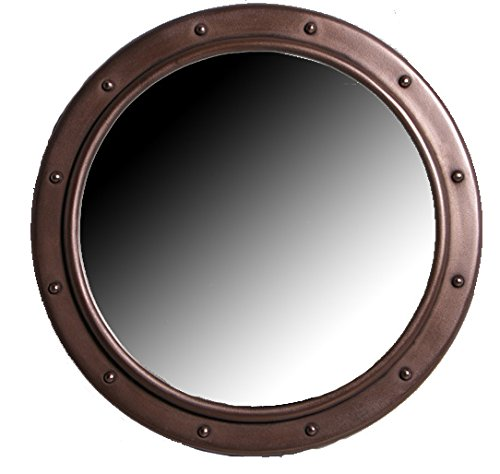 20Dia-Bronze-Finish-Porthole-Mirror-with-No-Dog-Ears-Non-Opening-Wall-Mount