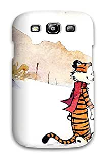 JeffreySCovey Premium Protective Hard Case For Galaxy S3- Nice Design - Calvin And Hobbes