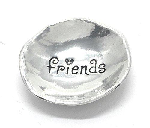 (Friends Pewter Trinket Dish)