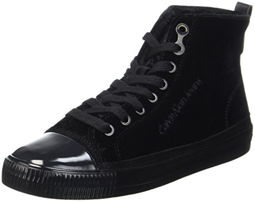 Klein Debby Calvin Schwarz Sneaker Velvet Black Damen 7aqxRwqnEd