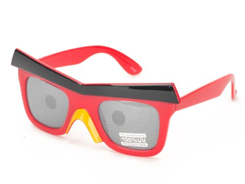 Free S&H Sunglasses - Angry Birds Look Adult Sunglasses (PT609RED) (Bans Colorful Ray)