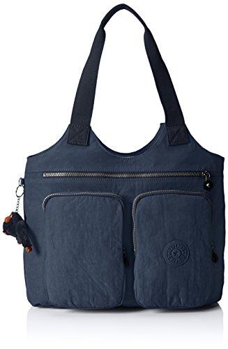 Kipling K14254 Damen Shopper 47x35x13 cm (B x H x T), Blau (42W Alaskan Blue)