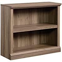 Sauder 420179 2-Shelf Bookcase 2, Salt Oak