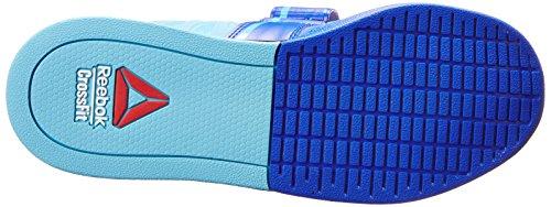 Reebok Womens Crossfit Lifter 2.0 Scarpa Da Allenamento Blu Vitale / Blu Neon / Ghiaia