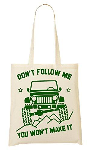 CP Don'T Follow You Won'T Make It Bolso De Mano Bolsa De La Compra
